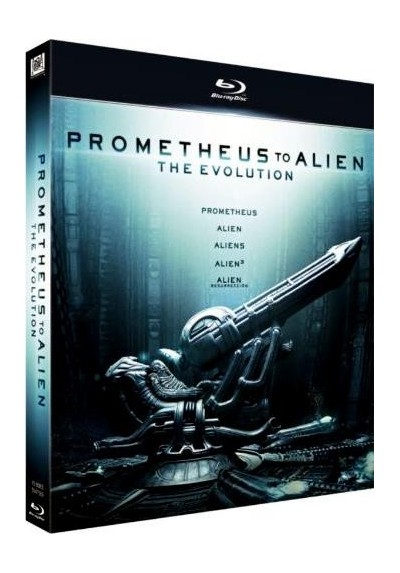Pack Prometheus To Alien - The Evolution (Blu-Ray)