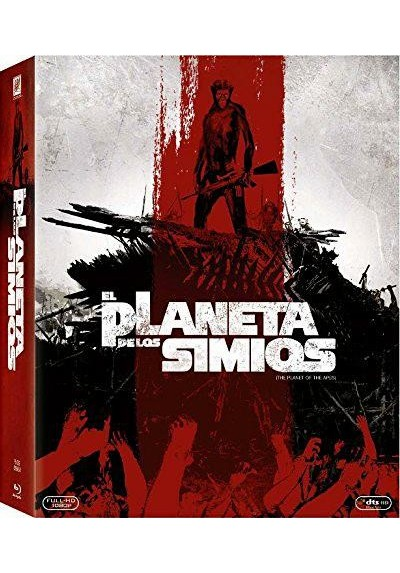 El Planeta De Los Simios - Saga Completa (Blu-Ray) (Planet Of The Apes)
