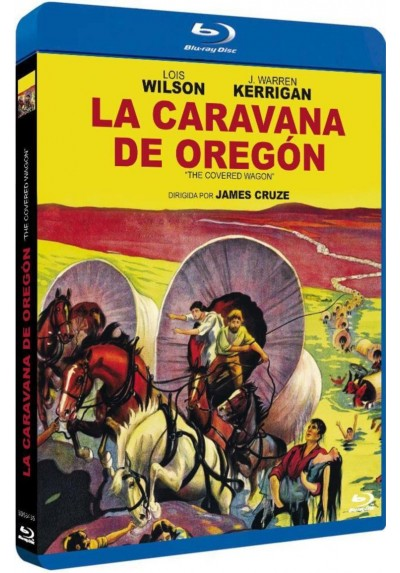 La Caravana De Oregón (Blu-Ray) (Bd-R) (The Covered Wagon)
