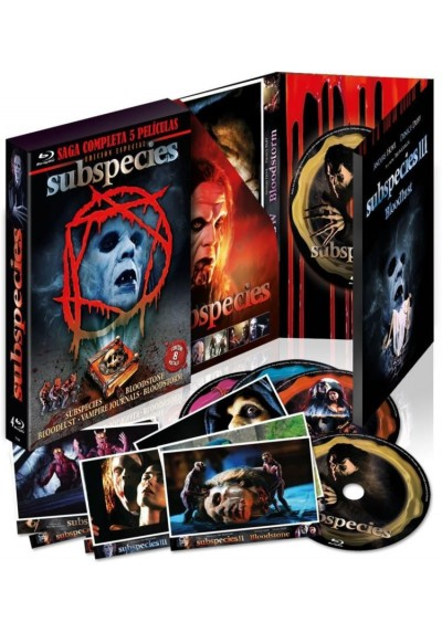 Subspecies 1 A 4 + Vampirte Journals (Blu-Ray)