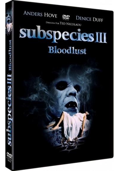 Subspecies III