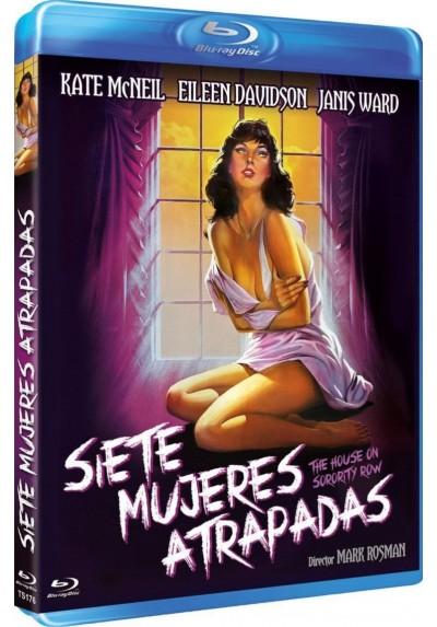 Siete Mujeres Atrapadas (Blu-Ray) (The House On Sorority Row)