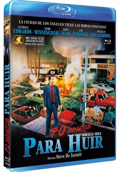 70 Minutos Para Huir (Blu-Ray) (Miracle Mile)