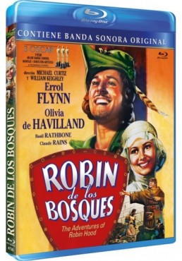 Robin De Los Bosques (Nueva Edición) (Blu-Ray) (The Adventures Of Robin Hood)