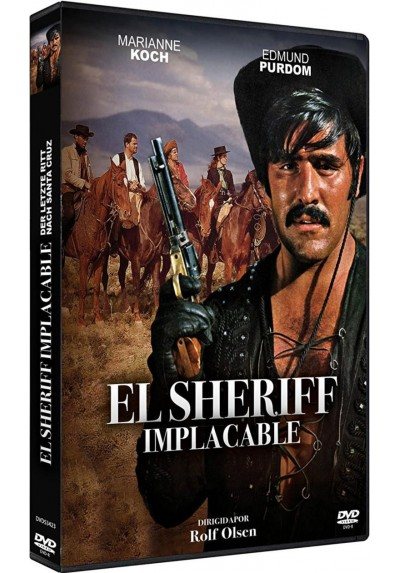 El Sheriff Implacable (Dvd-R) (Der Letzte Ritt Nach Santa Cruz)