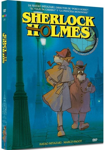 Sherlock Holmes (Serie Completa Remasterizada) (Meitantei Holmes)