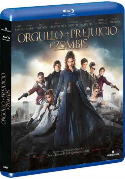 Orgullo + Prejuicio + Zombis (Blu-Ray) (Pride And Prejudice And Zombies)