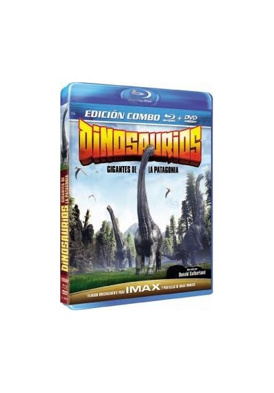 Dinosaurios: Gigantes De La Patagonia (Blu-Ray + Dvd) (Dinosaurs : Giants Of Patagonia)