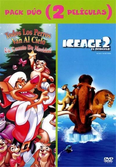 Pack Todos los Perros van al Cielo + Ice Age 2 El Deshielo + Disco de Actividades Noche en el Museo 2