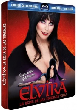 Elvira, La Reina De Las Tinieblas (Blu-Ray) (Ed. Metálica) (Elvira, Mistress Of The Dark)