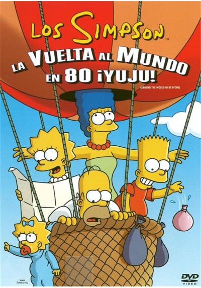Los Simpson, La Vuelta Al Mundo En 80 ¡Yuju!
