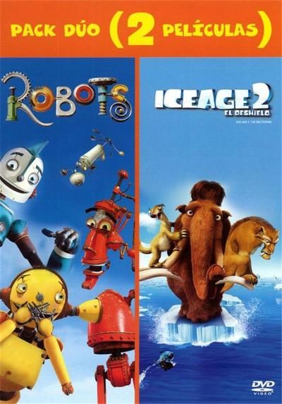 Pack Robots + Ice Age 2 El Deshielo + Disco de Actividades Noche en el Museo 2