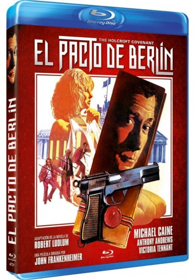 El Pacto De Berlin (Blu-Ray) (The Holcroft Covenant)