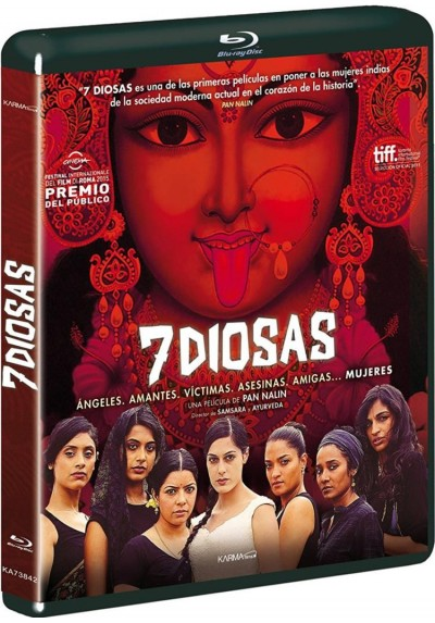 7 Diosas (Blu-Ray) (Angry Indian Goddesses)