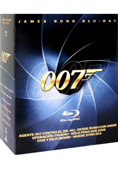 Pack James Bond (Blu-Ray)
