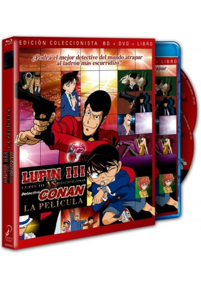 Lupin Vs. Detective Conan - La Película (Blu-Ray + Dvd) (Lupin 3 Sei Tai Meitantei Conan The Movie)