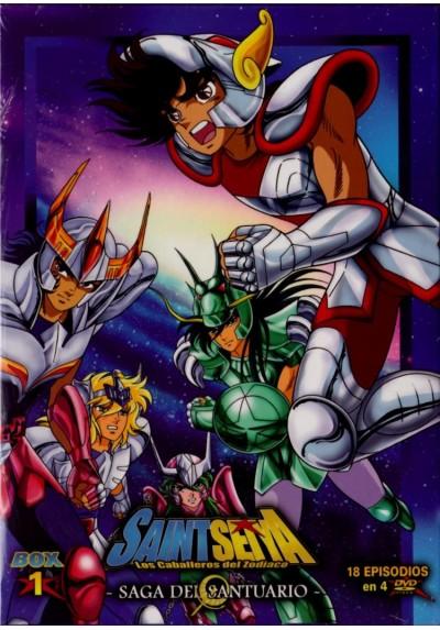Saint Seiya: Los Caballeros Del Zodiaco - Box 1