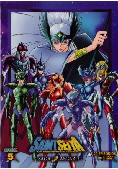 Saint Seiya: Los Caballeros Del Zodiaco - Box 5