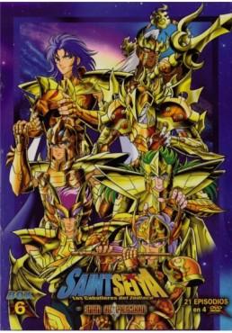 Saint Seiya: Los Caballeros Del Zodiaco - Box 6