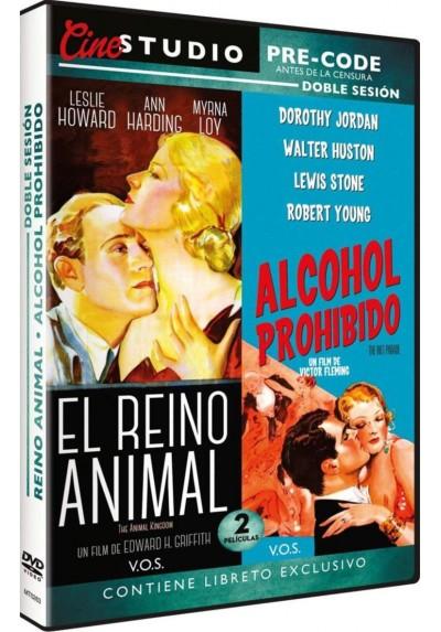Doble Sesión Pre-Code: El Reino Animal + Alcohol Prohibido