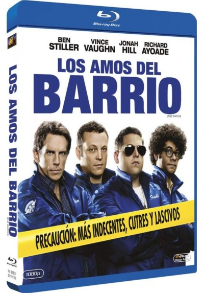 Los Amos Del Barrio (Blu-Ray) (The Watch)