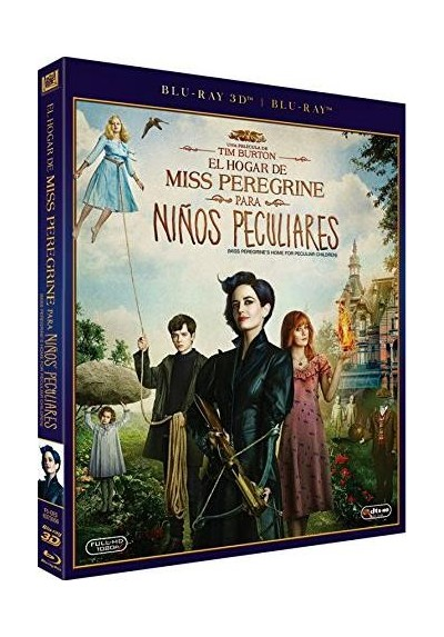 El Hogar De Miss Peregrine Para Niños Peculiares (Blu-Ray 3d + Blu-Ray) (Miss Peregrine´s Home For Peculiar Children)