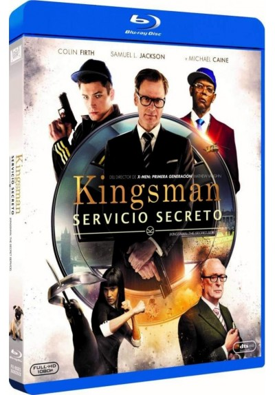 Kingsman: Servicio Secreto (Blu-Ray) (Kingsman: The Secret Service)