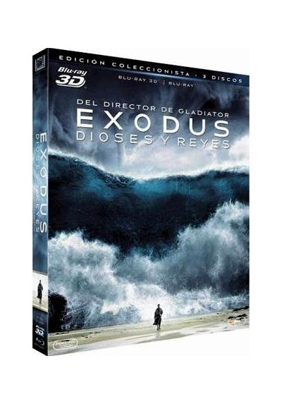 Exodus: Dioses Y Reyes (Blu-Ray 3d + Blu-Ray) (Exodus: Gods And Kings)