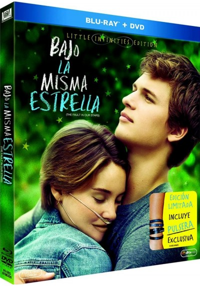 Bajo La Misma Estrella (Blu-Ray + Dvd + Pulsera) (Ed. Limitada) (The Fault In Our Stars)