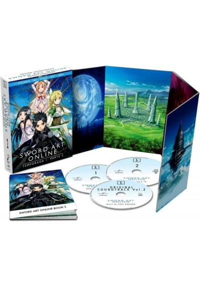 Sword Art Online : 1ª Temporada - 2ª Parte (Blu-Ray)