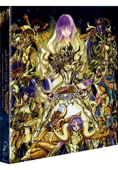 Saint Seiya - Soul Of Gold - Vol. 1 (Blu-Ray + Dvd + Extras) (Ed. Digibook Coleccionista)