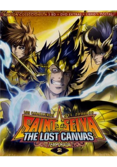 Saint Seiya - Los Caballeros Del Zodiaco: The Lost Canvas - 2ª Temporada (Blu-Ray + Dvd Extras + Libro + Postal)