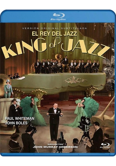 El Rey Del Jazz (Blu-Ray) (Bd-R) (King Of Jazz)