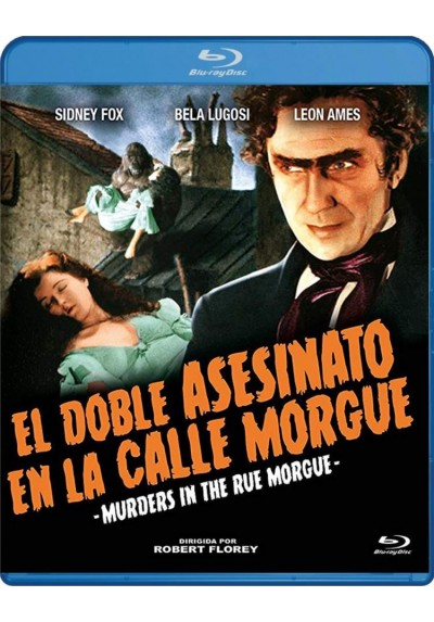El Doble Asesinato En La Calle Morgue (Blu-Ray) (Bd-R) (Murders In The Rue Morgue)