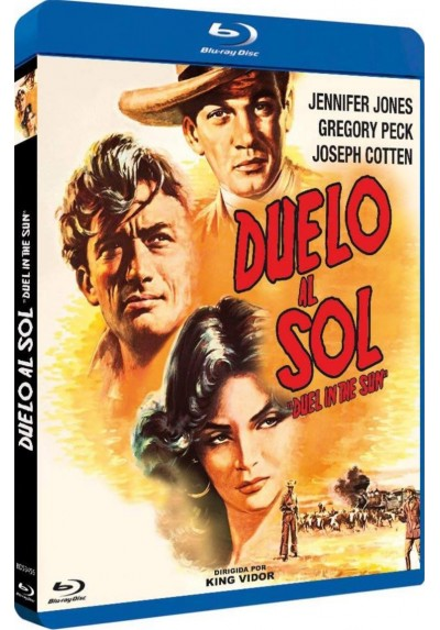 Duelo Al Sol (Blu-Ray) (Bd-R) (Duel In The Sun)