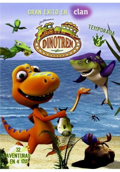 Dinotren - 3ª Temporada (Dinosaur Train)