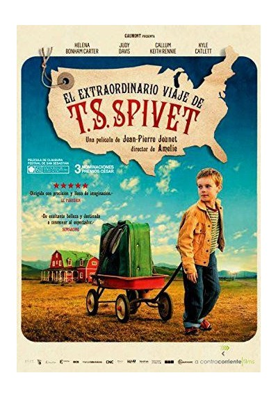 El Extraordinario Viaje De T. S. Spivet (L'Extravagant Voyage Du Jeune Et Prodigieux T.S. Spivet)