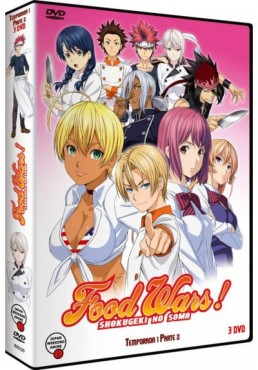Food Wars - 1ª Temporada - 2ª Parte (Shokugeki No Soma)