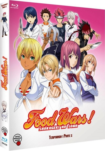 Food Wars - 1ª Temporada - 2ª Parte (Shokugeki No Soma) (Blu-ray)