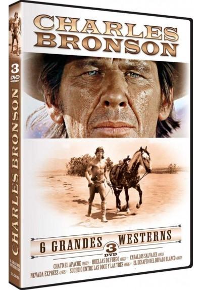 Pack Charles Bronson - 6 Grandes Western