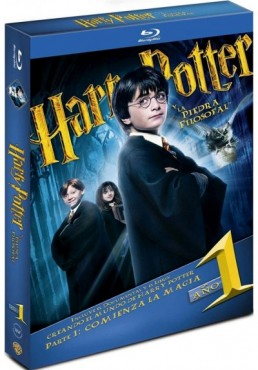 Harry Potter Y La Piedra Filosofal (Blu-Ray) (Ed. Libro) (Harry Potter And The Sorcerer'S Stone)