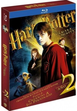 Harry Potter Y La Cámara Secreta (Blu-Ray) (Ed. Libro) (Harry Potter And The Chamber Of Secrets)