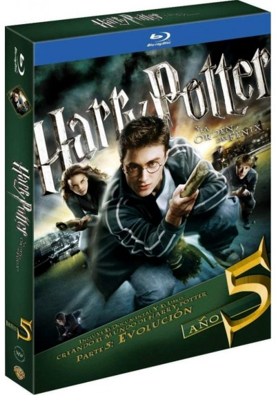 Harry Potter Y La Orden Del Fénix (Ed. Libro) (Harry Potter And The Order Of The Phoenix)