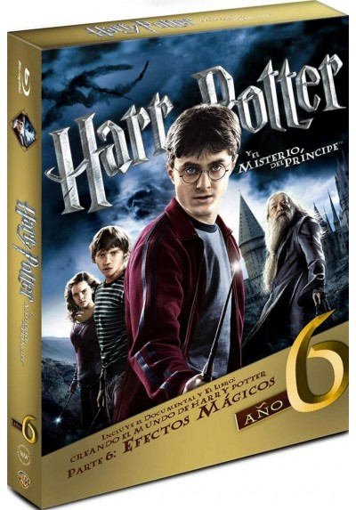 Harry Potter Y El Misterio Del Príncipe (Ed. Libro) (Blu-ray) (Harry Potter And The Half-Blood Prince)