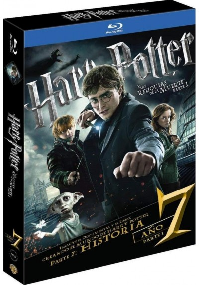 Harry Potter Y Las Reliquias De La Muerte - 1ª Parte (Blu-Ray) (Ed. Libro) (Harry Potter And The Deathly Hallows: Part 1)