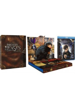 Animales Fantásticos Y Donde Encontrarlos (Blu-Ray 3d + Blu-Ray + Copia Digital) (Fantastic Beasts And Where To Find Them)