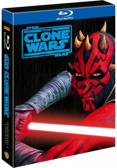 Star Wars: The Clone Wars - 4ª Temporada (Blu-Ray)