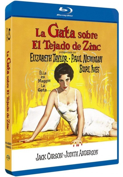 La Gata Sobre El Tejado De Zinc (Blu-Ray) (Cat On A Hot Tin Roof)