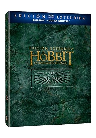 El Hobbit: La Desolacion De Smaug (Ed. Extendida) (Blu-Ray + Copia Digital) (The Hobbit: The Desolation Of Smaug)