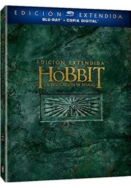 El Hobbit: La Desolacion De Smaug (Ed. Extendida) (Blu-Ray + Copia Digital) (The Hobbit: The Desolation Of Smaug)